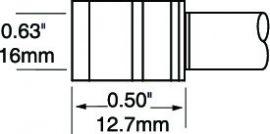 PTTC-705 - Csipesz pákahegy (pár)