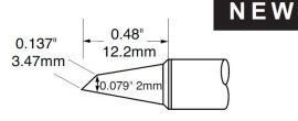 SCV-DRH420A - Forrasztó pákacsúcs