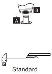STDC-105 - Kiforrasztó pákahegy