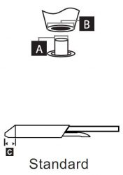 STDC-802 - Kiforrasztó pákahegy