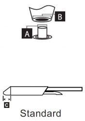 STDC-805 - Kiforrasztó pákahegy