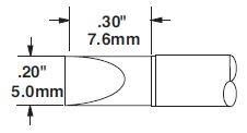 STTC-117 - Forrasztó pákahegy