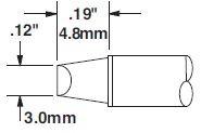 STTC-813 - Forrasztó pákahegy