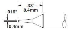 STTC-822 - Forrasztó pákahegy