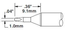 STTC-825 - Forrasztó pákahegy