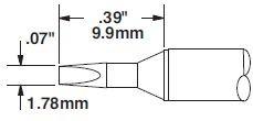 STTC-837 - Forrasztó pákahegy